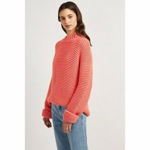French Connection Neve Links Sweater S High Neck
